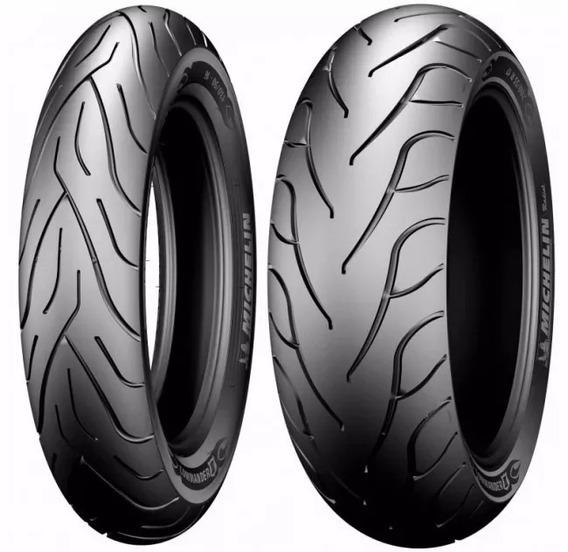 Par Pneus Michelin Commander I I 240/40 R18 + 120/70 Zr19