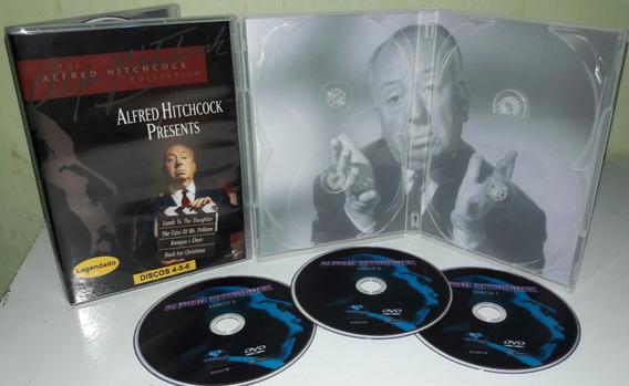 Dvd Box Coleção Suspense Alfred Hitchcock ( 6 Dvds )