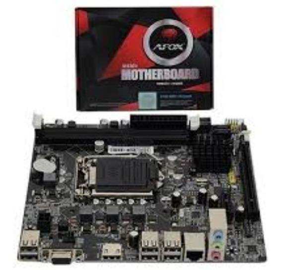 Kit 1150 + Cpu I5 4590 + Mb Afox Ih81-ma + 4gb M + Ssd 120g