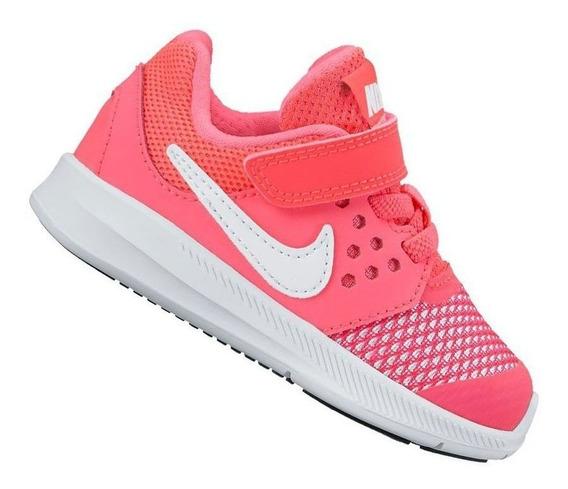 Tênis Nike Downshifter 7 Infantil Feminino Original + Nf