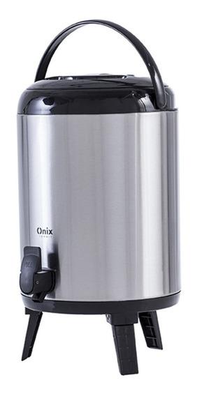 Botijão Térmico Aço Inox 9,5 L Quente /frio C/ Torneira
