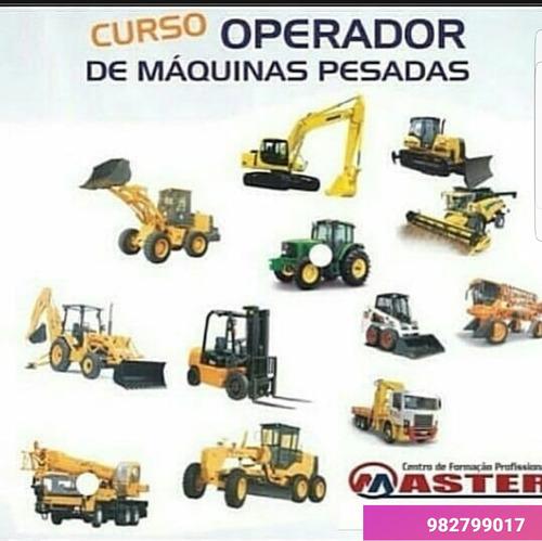 Imagem 1 de 5 de Curso Operador De Maquinas Pesadas Em Itabira-mg E Caete-mg