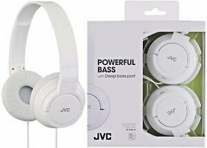 Audifonos Jvc Plegables Ha-s180-w Color Blanco Usa