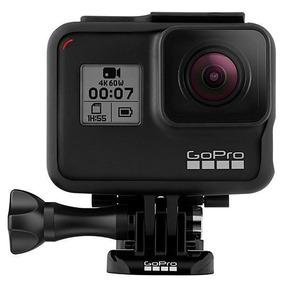 Camera Esportiva Hd Go Pro Gopro 4k 12mp Wifi Hero 7 Black