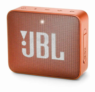 Bocina JBL GO 2 portátil inalámbrico Coral orange