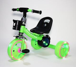 Triciclo Bebe Bfun New York Con Luces Y Musica Babymovil
