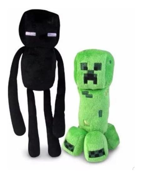 Peluche Creeper Enderman Minecraft Casimocho Navidad Niños