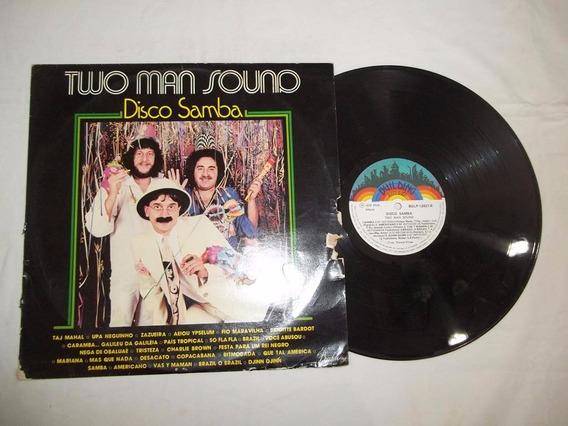 Lp Vinil - Two Man Sound Disco Samba - Pop Rock Inter