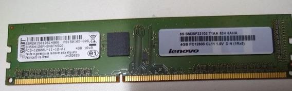 Memória 4gb Ddr3 12800u Pc3 Smart Lenovo Original