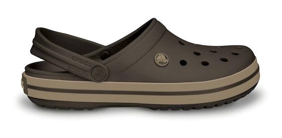 Crocs Originales Crocband Marron Hombre Mujer