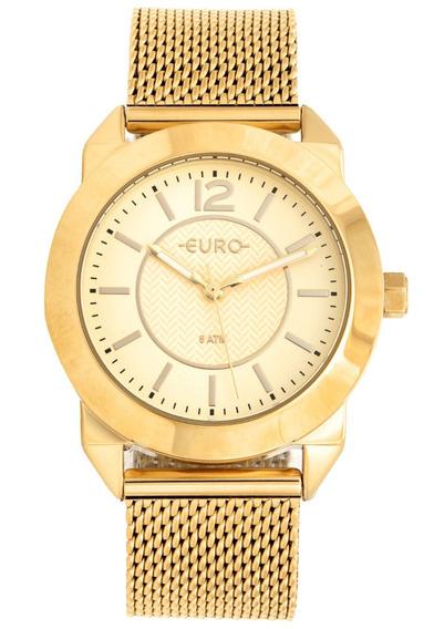 Relógio Euro Feminino Dourado Analógico Eu2036yls/4d Origina