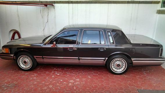 Lincoln Town Car Cartier 1993 Conservación Original