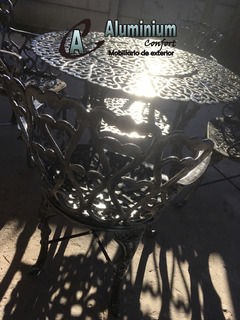 Juego De Jardín Modelo Boston Aluminium - Juegos de Muebles ...
