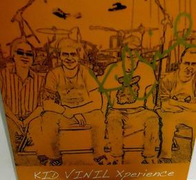 Kid Vinil 2014 Kid Vinil Xperience Compacto Autografado
