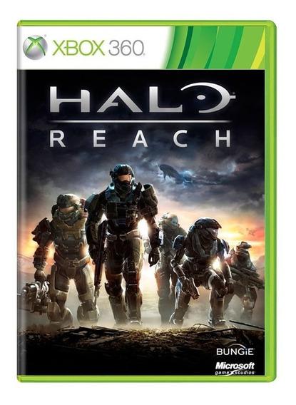 Halo Reach Xbox 360   Mídia Física Original Playgorila