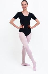 f9c2a79d2e Collant Colan Body Maiô - 1 2 Manga - Roupa Dança Ballet. 3 cores. R  29 90