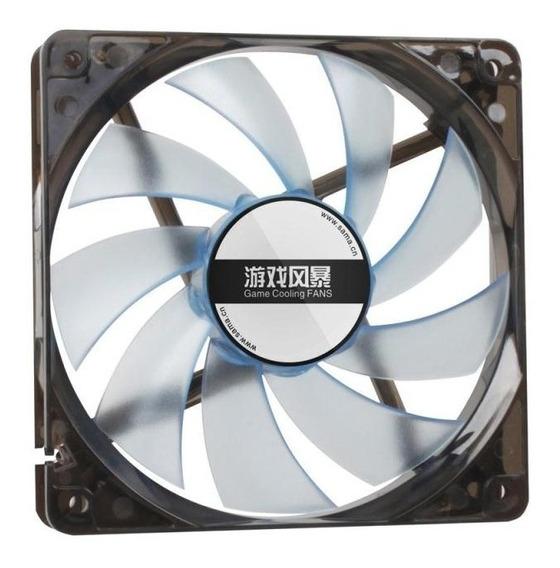 Fan Cooler Ventilação Computador Atx Molex 4 Pinos Led 120mm