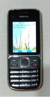 Celular Nokia C2-01 Funcionando - Sem A Caixa - Usado