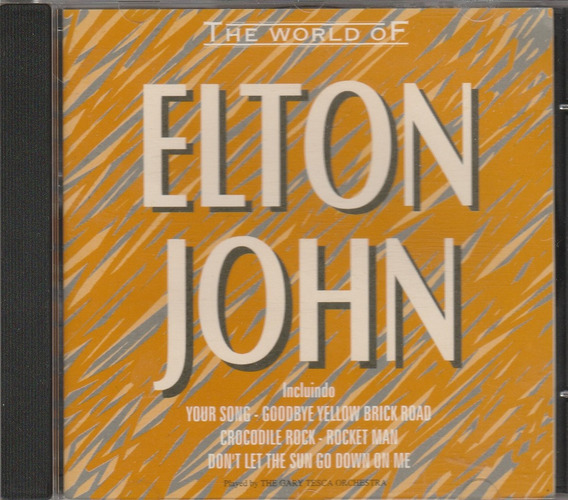 Cd The World Of Elton John - Tirbuto Instrumental