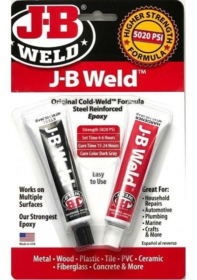 Colajbwr 8265 Solda Fria J-b Weld Super Cola Epoxi P/ Carros