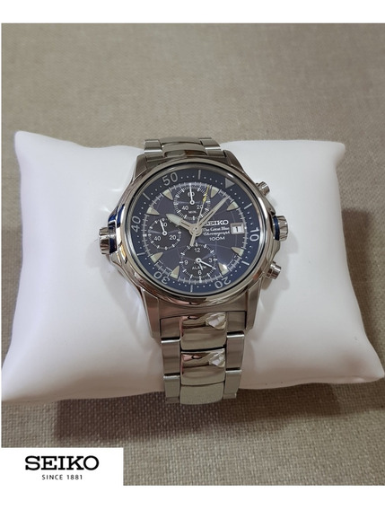 Relogio Seiko The Great Blue Chronograph 7t62-0a20 A6