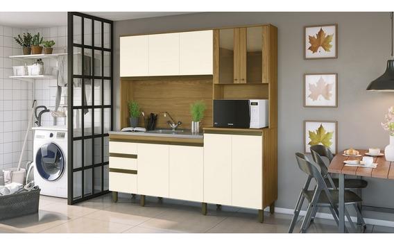Cozinha Compacta B118 10 Portas 02 Gavetas Briz