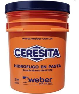 Weber Ceresita Hidrofugo En Pasta Iggam X 20 Kgs