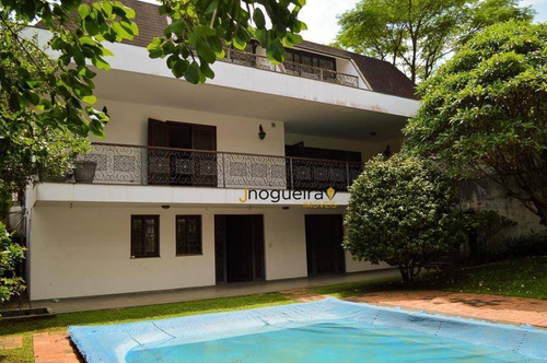 Casa Com 5 Dormitórios À Venda, 753 M² Por R$ 2.750.000,00 - Santo Amaro - São Paulo/sp - Ca3289