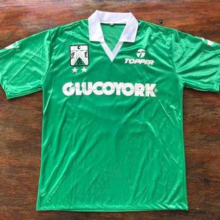 Camiseta Ferro 1992 Topper #8 Utileria. Glucoyork