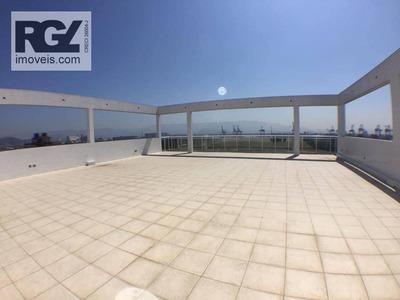 Laje Rooffop Comercial Para Venda E Locação, Aparecida, Santos. - Lj0004
