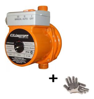 Bomba Presurizadora Elevadora Presion Lusqtoff + Guantes