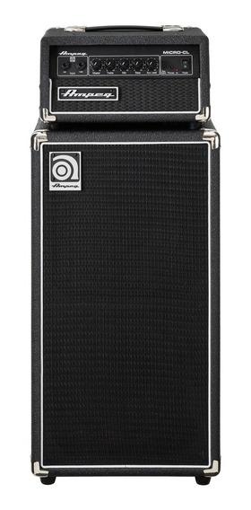 Cabeçote Amplificador Ampeg Para Baixo Micro-cl + Cx. Ampeg