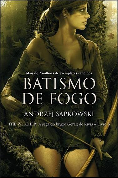 Livro: Coleção The Witcher - Batismo De Fogo - Vol. 5