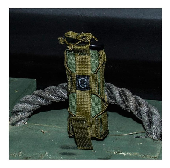 Porta Carregador Simples Para Pistola Verde - Bravo