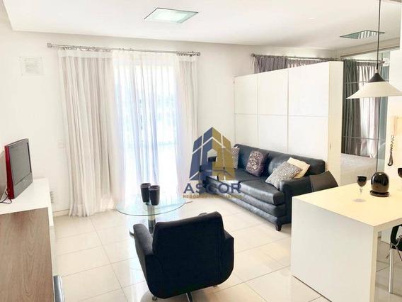 Apartamento Com 1 Dormitório Para Alugar, 64 M² Por R$ 1.800/mês - Itacorubi - Florianópolis/sc - Ap2542