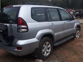 Sucata Toyota Land Cruiser 3.0 Prado - Retirada De Peças