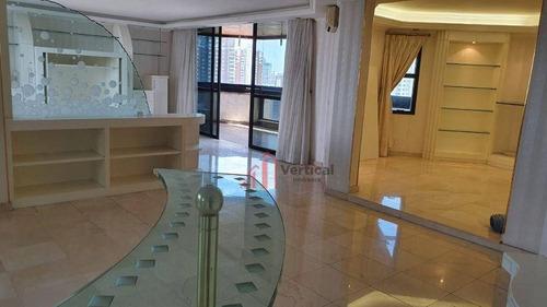 Apartamento Com 4 Dormitórios À Venda, 473 M² Por R$ 4.000.000 - Jardim Anália Franco - São Paulo/sp - Ap6467