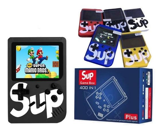 Mini Vídeo Game Portátil 8 Bits 400 Jogos Top C/ Super Mário