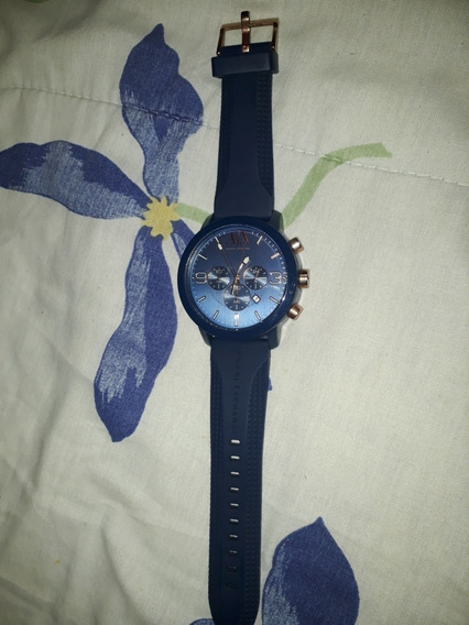 Relógio Armani Exchange Ax1450 Azul Masculino, Original!!