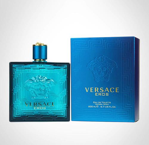 Perfume Original Eros Versace Pará Hom - mL a $644