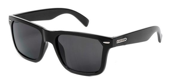 Rusty Bruk Anteojos De Sol Gafas Polarizado Negro Wayfarer