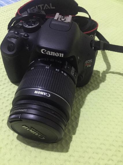 Câmera Digital Canon Rebel Eos T3i Com Bolsa E Acessórios