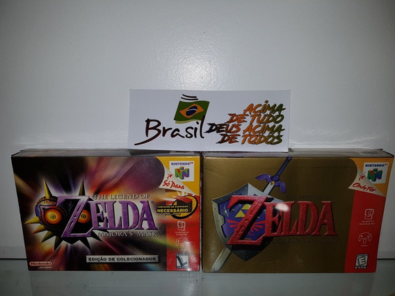 Zelda Ocarina Of Time N64 Novo Lacrado