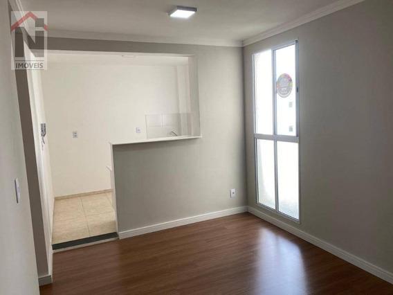 Apartamento Com 2 Dormitórios Para Alugar, 48 M² Por R$ 930/mês - Parque Santa Rosa - Suzano/sp - Ap0058