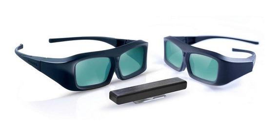 Kit De Atualização Philips Com Óculos 3d E Transmissor