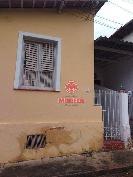 Casa Para Alugar, 55 M² Por R$ 850,00/mês - Centro - Piracicaba/sp - Ca2411