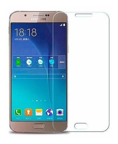 Mica Protectora Samsung A8 De Cristal Templado Dureza 9h
