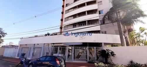 Apartamento À Venda, 62 M² Por R$ 298.000,00 - Centro - Londrina/pr - Ap1221