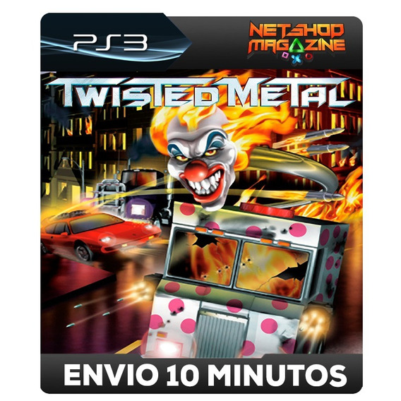 Twisted Metal - Classico Do Ps1 - Psn Ps3 - Oferta Envio Já