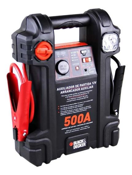 Auxiliar De Partida Powerbank Kit Emergência Veicular Lanter
